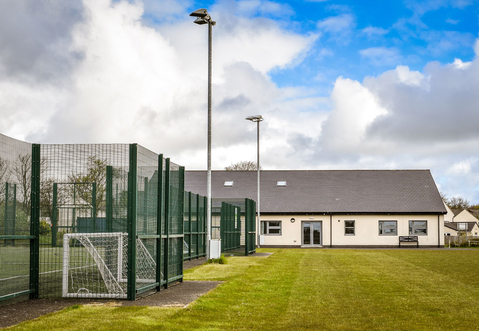 Longhoughton Community and Sports Centre Grass Pitches