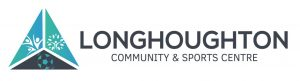 Longhoughton Community and Sports Centre Retina Logo